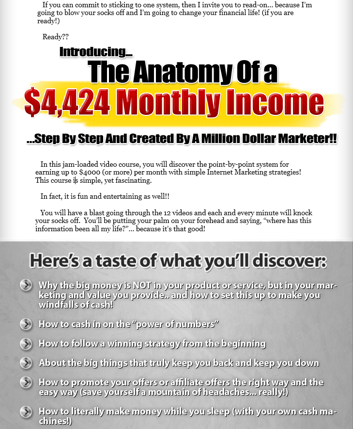 Click Here To Download The Anatomy of $4000 Per Month Passive Income ...